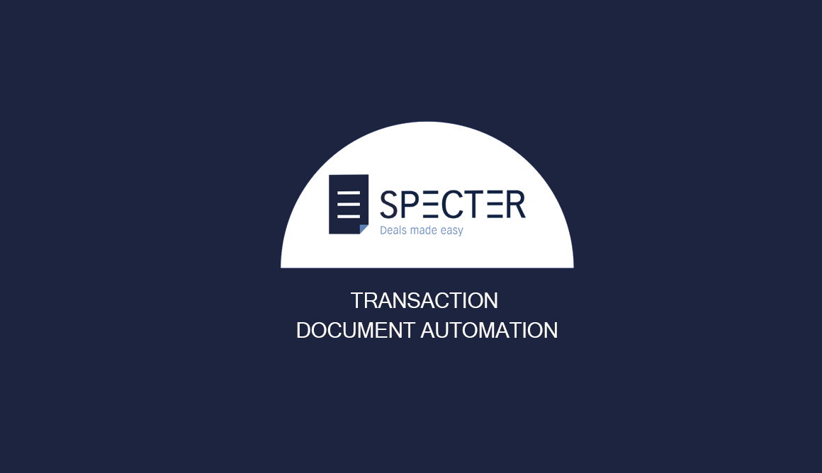 Documenting deals faster and better with Specter.. here's how it works!