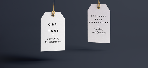 Q&A Release: Page Reference & Tags
